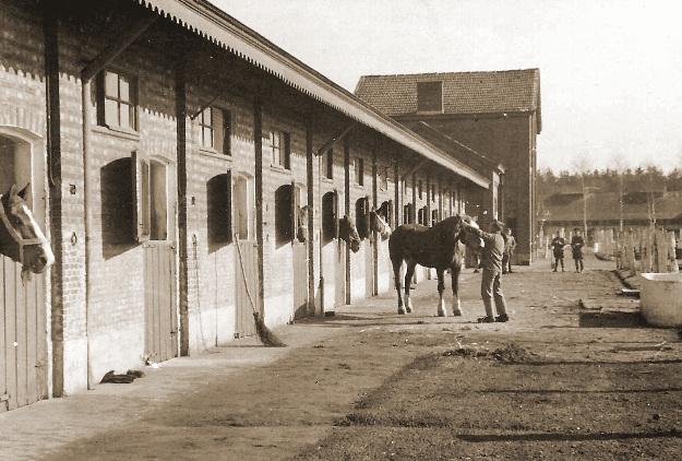Remontedepot 1939 - de paardenstallen.