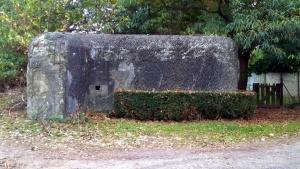 Bunker bij de brug van Eigenbilzen bezet door het III/11Li