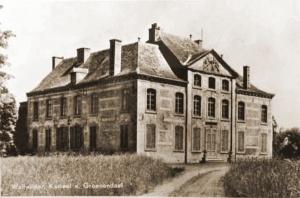 Kasteel van Groenendaal, commandopost van het 11Li op 10 mei 1940.