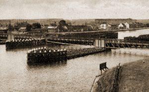 Bruggencomplex te Sluiskil (vooroorlogse foto)