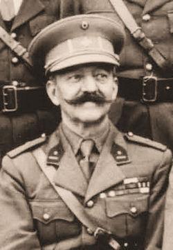 Majoor Ernest Henry, bevelhebber van het Iste Bataljon