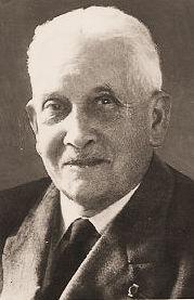 Georges Verhaegen korte tijd voor zijn overlijden in 1963.