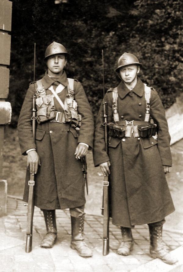 Fuseliers van de infanterie
