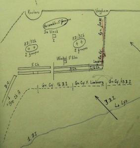 Inzet van de 10Div na de succesvolle Duitse aanval over de Leie te Kortrijk.