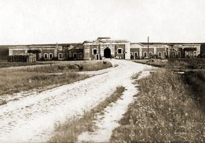 Het fort van Breendonk, de reeds in vredestijd geplande oorlogslocatie van het GHK.