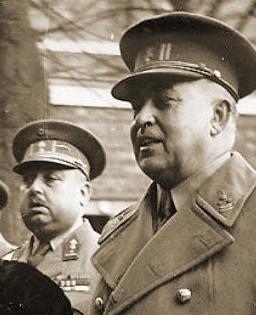 Generaal-majoor Michiels, stafchef vanaf januari 1940.
