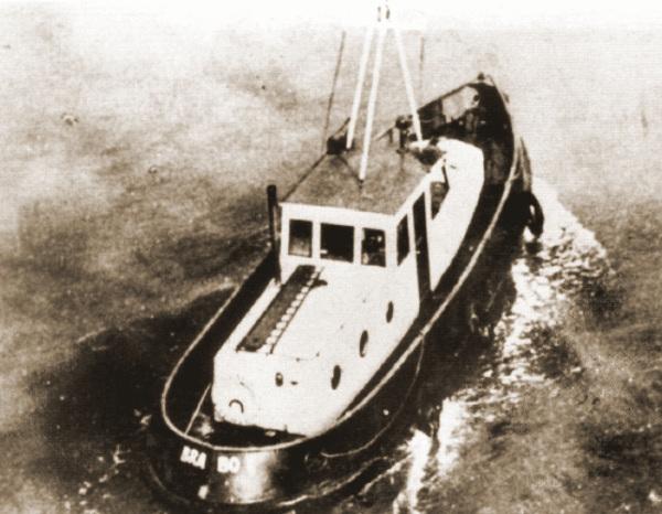 De Brabo 1 van het 3e Smaldeel wordt op 14 mei op patrouille gestuurd naar de Beneden Schelde.