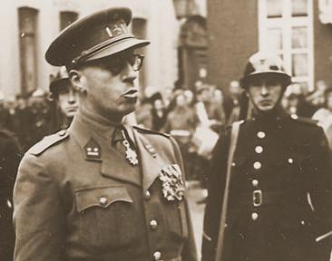 Majoor Sodermans als Luitenant-kolonel in 1946.