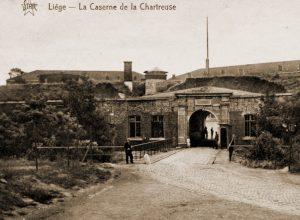 De Chartreusekazerne te Luik, vredesvoetgarnizoen van het 3de Regiment Genie
