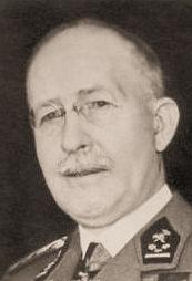 André De Ridder op latere leeftijd als kolonel