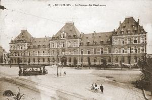 Prins Boudewijnkazerne te Schaarbeek waar het 3C op 22 september 1939 mobiliseerde.
