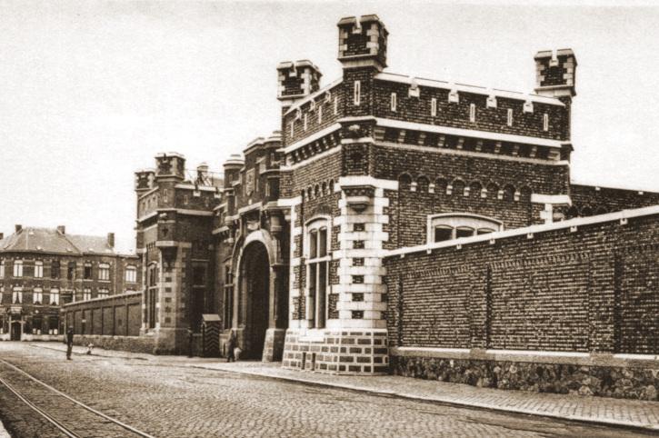 Leopoldkazerne te Namen waar de GpCy 15Div op 11 september 1939 gemobiliseerd werd