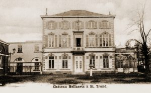 Kasteel Mellaerts langs de Tiensesteenweg te Sint-Truiden waar de Staf van het CK zich had geïnstalleerd tijdens de mobilisatie.