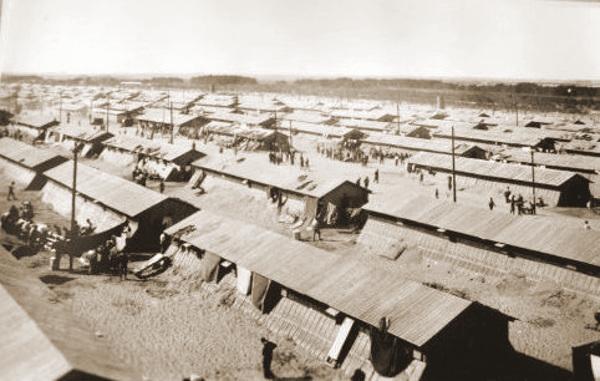 Het kamp van Argeles