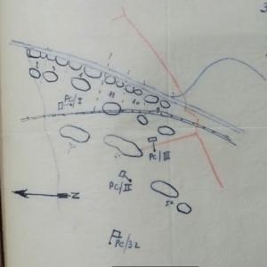 Opstelling van 32Li op 22 mei tussen Terdonk in het zuiden en Rieme in het noorden. I/32Li en III/32Li staan opgesteld in eerste lijn, II/32Li staat opgesteld in tweede echelon.