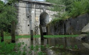Recente foto ingang Fort van Brasschaat