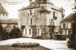Het Château de Boucq waar het werkbataljon van X/GVCE kantonneerde tijdens de nacht van