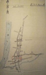 Geplande hergroeperingszone voor II/4AP te Hemiksem nabij de Sint-Bernardkazerne van het 2LD