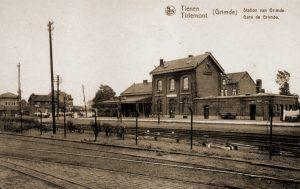 Station van Grimde waar het Pl Park/26Gn stond opgesteld tot 11 mei 1940