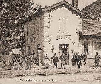 Station van Montpaon.