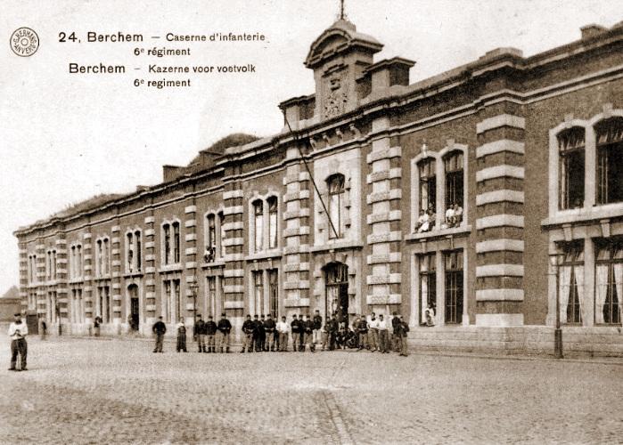 Onderluitenant Dupont kazerne Berchem