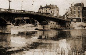 Pont Maunoury te Lagny waar het I/59Li begin juni passeerde