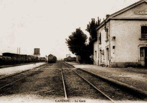 Station van Capendu van waaruit II/4Gr naar Bretagne vertrok