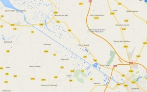 Vanaf 19 mei is de enige uitweg per spoor vanuit Abbeville de lijn richting Dieppe via Cahon. De andere spoorlijn is al afgesloten ter hoogte van Amiens.