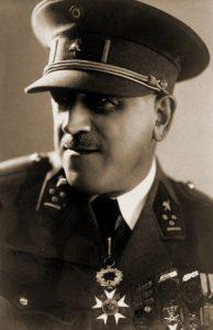 Generaal-majoor Victor Van Daele, Commandant 7Div vanaf (vooroorlogse foto).