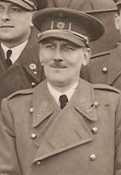 Geneesheer Kolonel De Block, chef van het 3de Geneeskundig Korps.