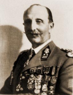 GenMaj Louis Boël, directeur van de 5de Directie van de Genie en de Versterkingen