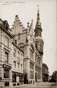 Telefooncentrale Gent vernield op 22 mei 1940