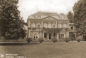 Kasteel Voshol te Brasschaat waar de Staf van II/26A zijn intrek had genomen