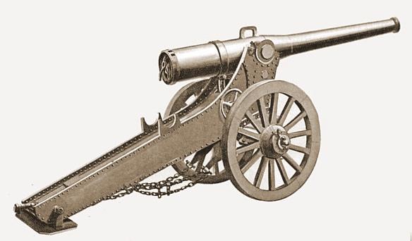 De C120L M1878 de Bange kanonnen waren hopeloos verouderde vuurmonden zonder terugstootrem of moderne richtmiddelen.