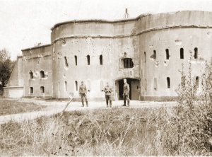 Schans van Drijhoek in het bataljonsvak van III/33Li