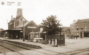 Station van Borgloon waar de Compagnie Intendance stond opgesteld