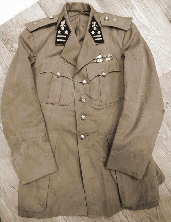 Uniformjas Generaal-majoor Deschacht