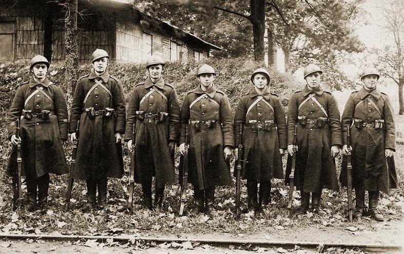 Artilleristen te Elsenborn