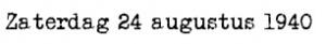 24 augustus 1940