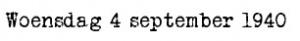 4 september 1940